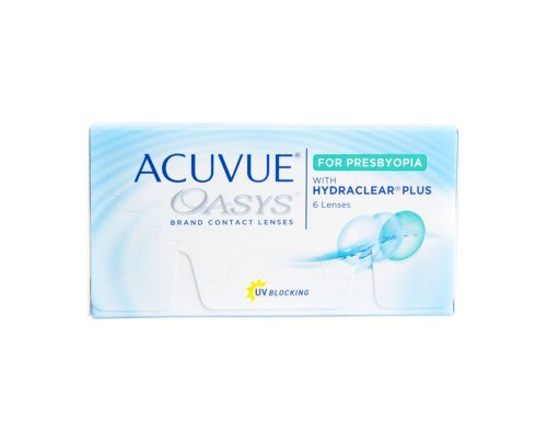 Acuvue Oasys with Hydraclear for Presbyopia