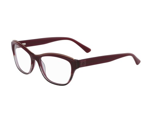 Anne Klein 5067 in Burgundy Animal