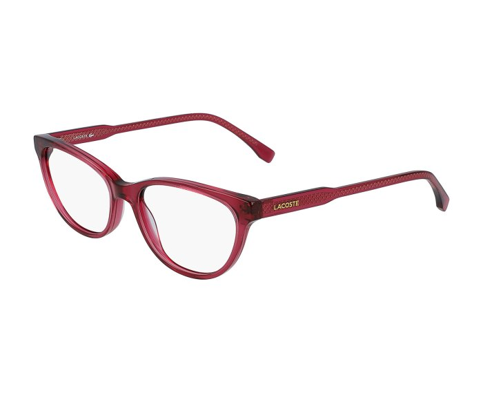 Lacoste L2850 in Transparent Red