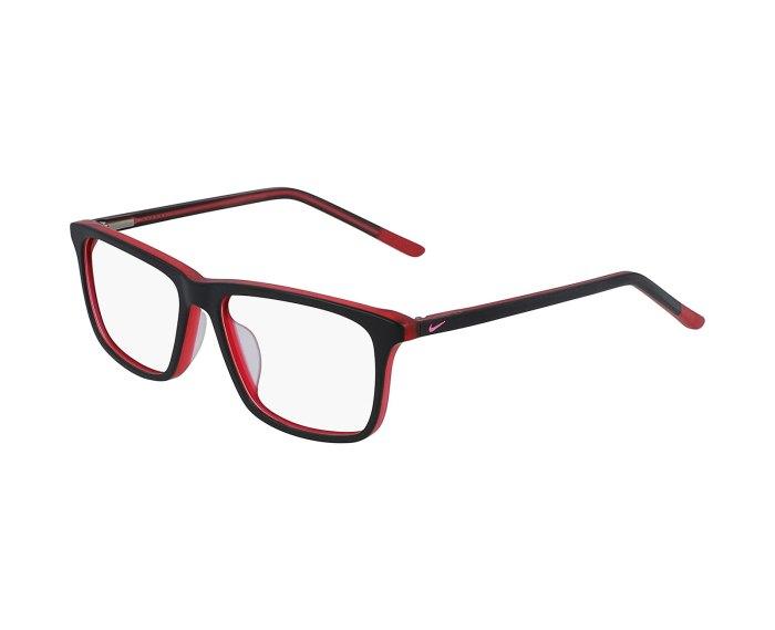 Nike 5541 in Matte Black/Gym Red