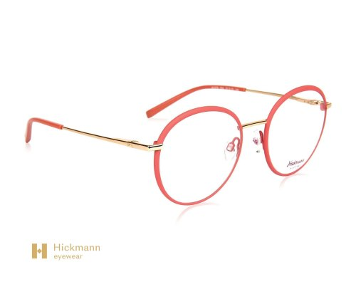 Hickmann Eyewear HI1078 in Pink/Gold