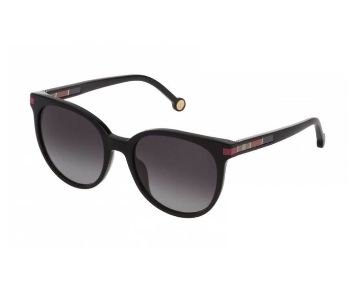 Carolina Herrera SHE830 in Smoke Gradient Black