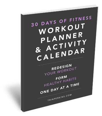 30 Days of Fitness Workout Planner Cover