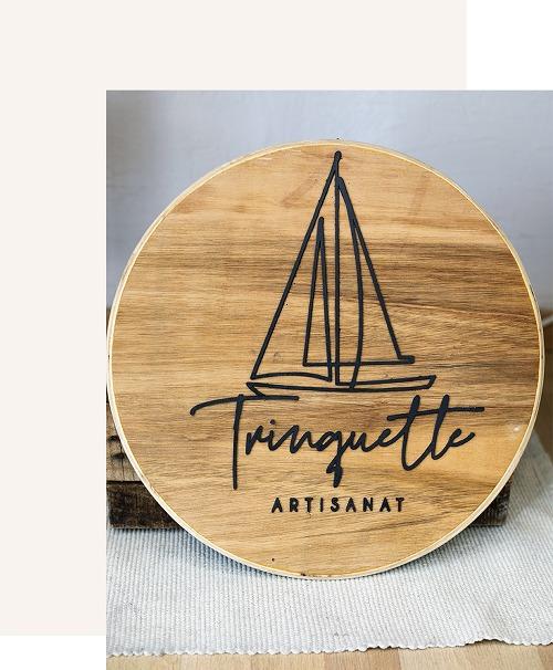 Trinquette Artisanat - logo Bois