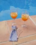 Pailles en verre et pochette - Trinquette Artisanat