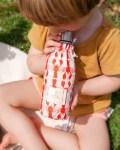 Duo de bouteilles isothermes Qwetch & pochette de transport - enfant