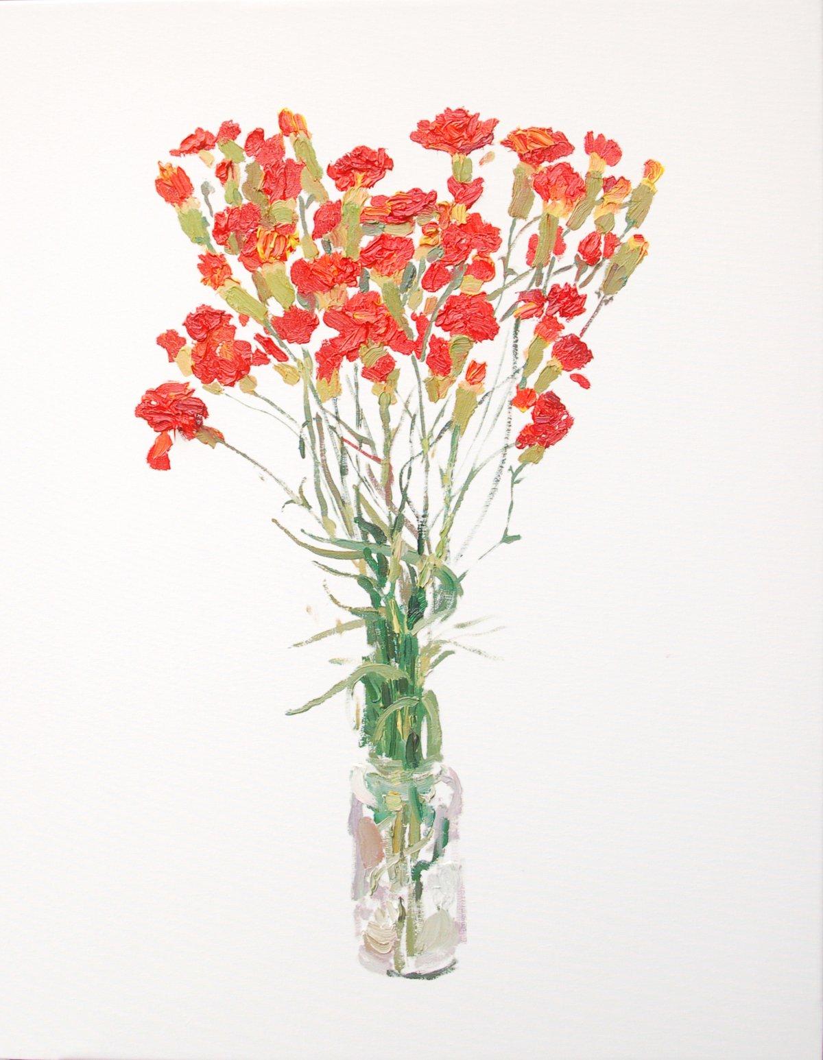 Pintar Cuadros De Flores Trinta Arte Contemporanea