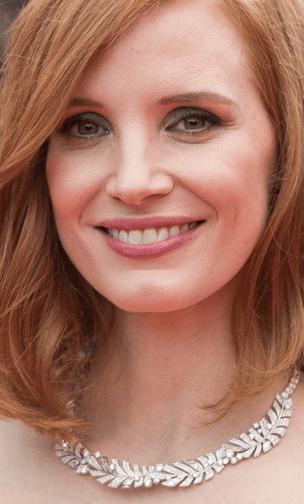 Jessica Chastain em Armani