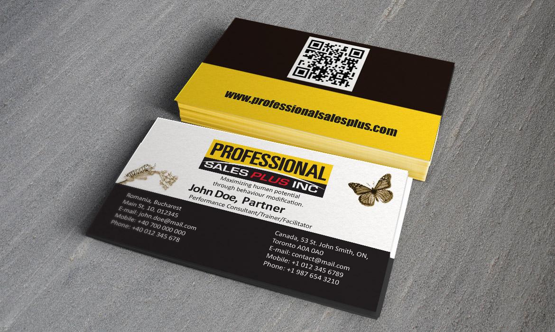 Professional Sales Plus - Business Card - Trintea