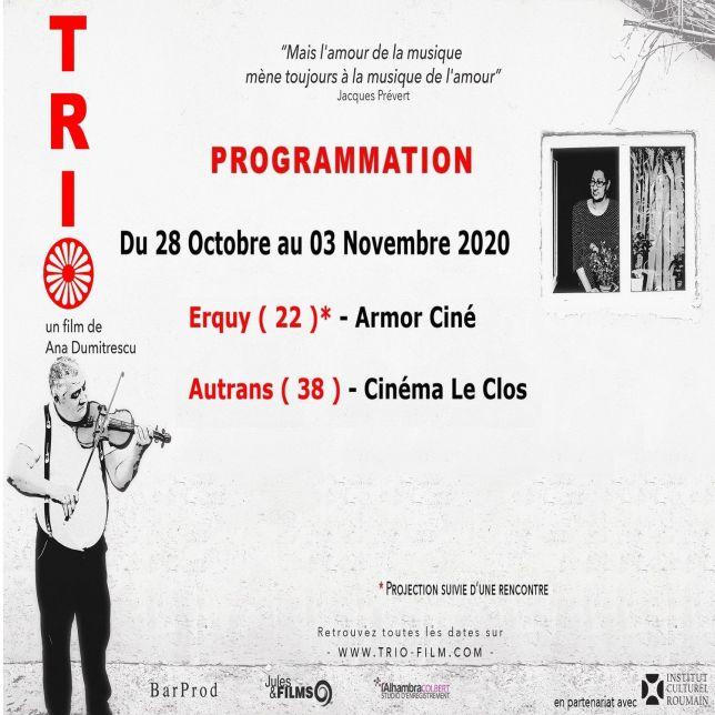 Séances / 28 Octobre au 03 Novembre 2020