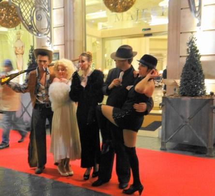 actores en el Hotel Majestic