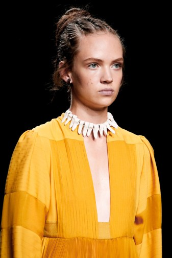 Valentino dress mustard