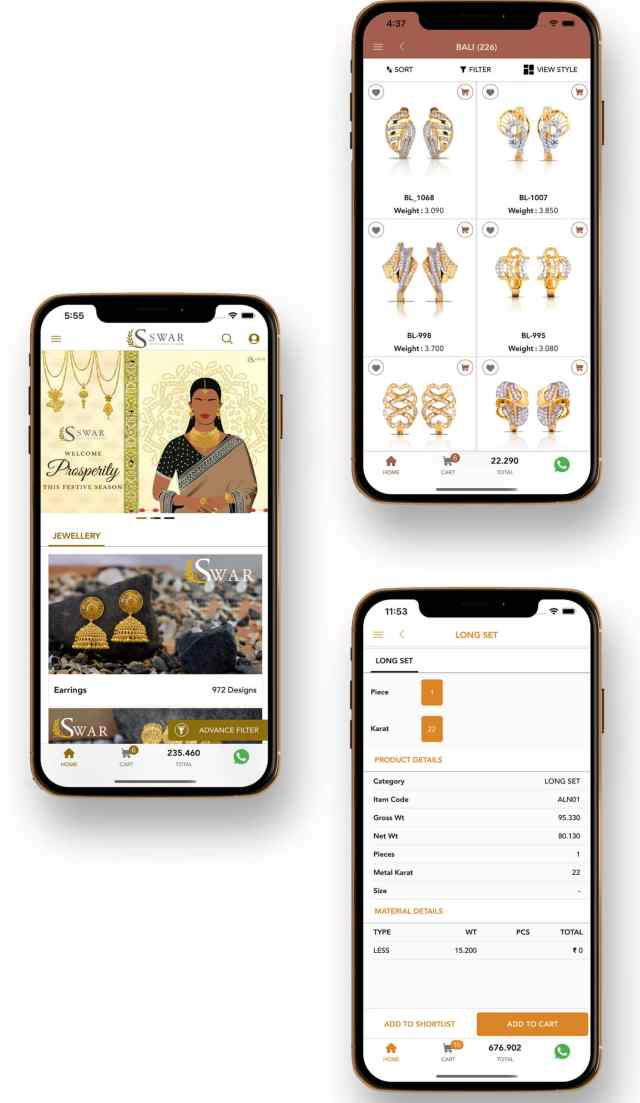 JewelFlow app solution for jewellers jewelflow new feature part cover phone