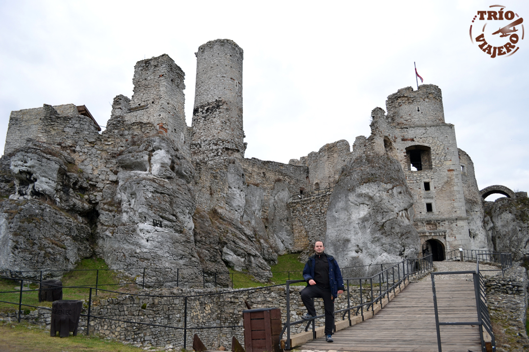 Trío Viajero > Szlak Orlich Gniazd (Polonia - Europa) > Castillo Ogrodzieniec