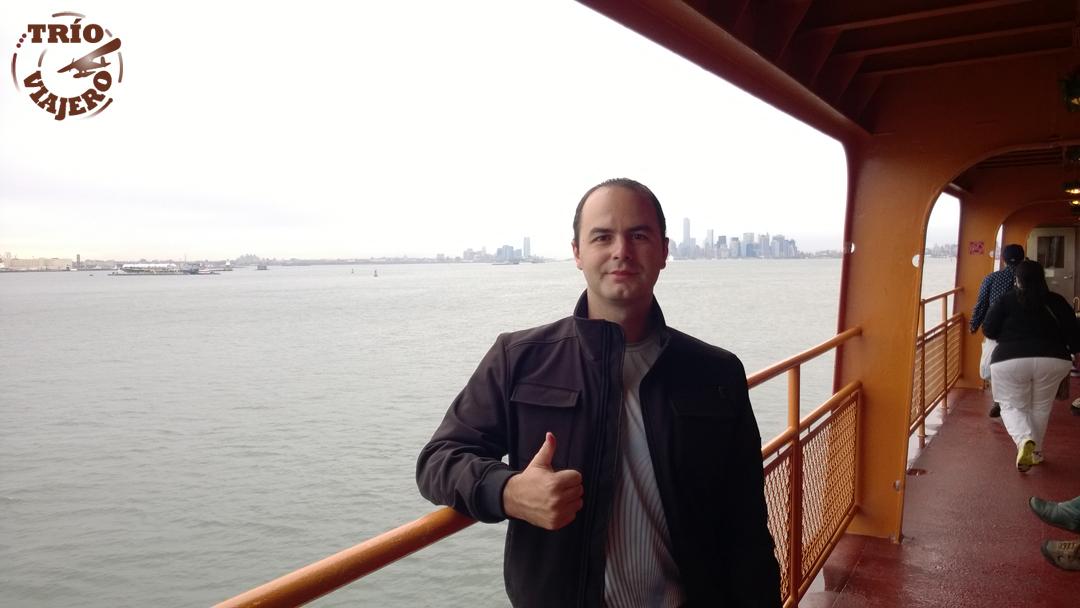 Ferry a Staten Island (Nueva York - EEUU - América) ⋆ Trío Viajero
