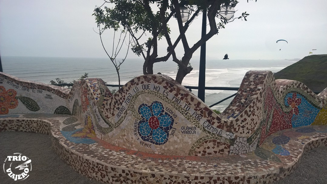 Parque del amor (Lima - Perú - América) ⋆ Trio Viajero