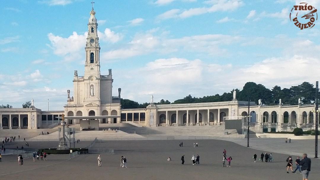 Santuario de Fátima (Portugal - Europa) ⋆ Trío Viajero