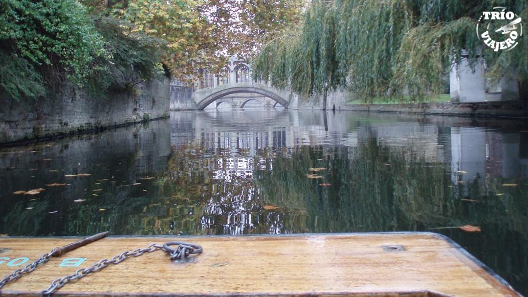 Río Cam (Cambridge - Reino Unido - Europa) ⋆ Trío Viajero