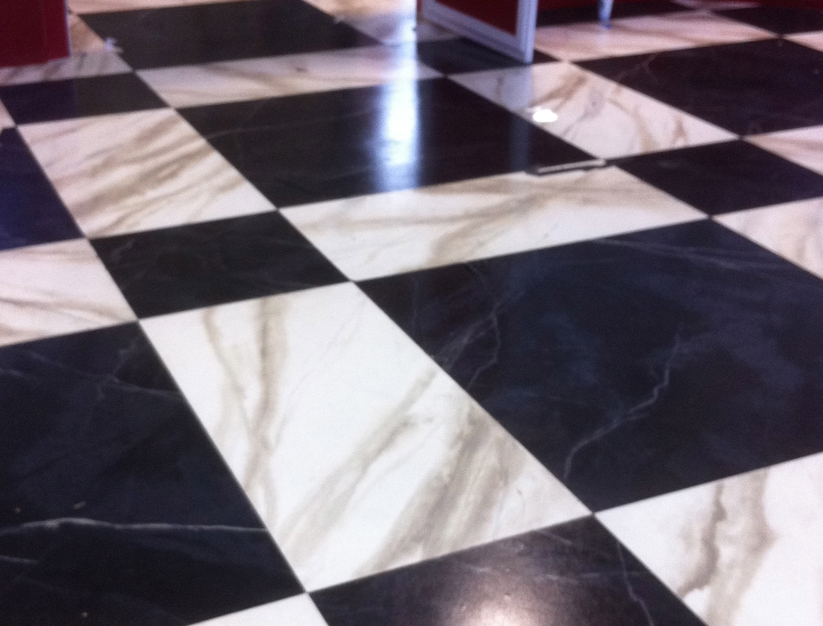Painted Faux Marble  TRIO