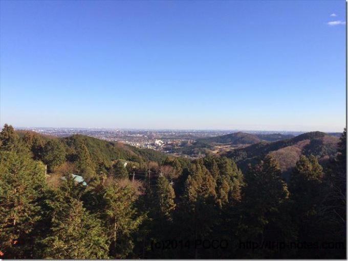桂木峠の見晴台