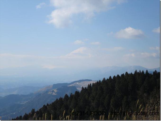 高松山からの富士山