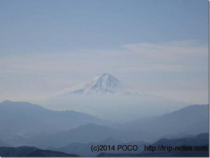 三頭山からの富士