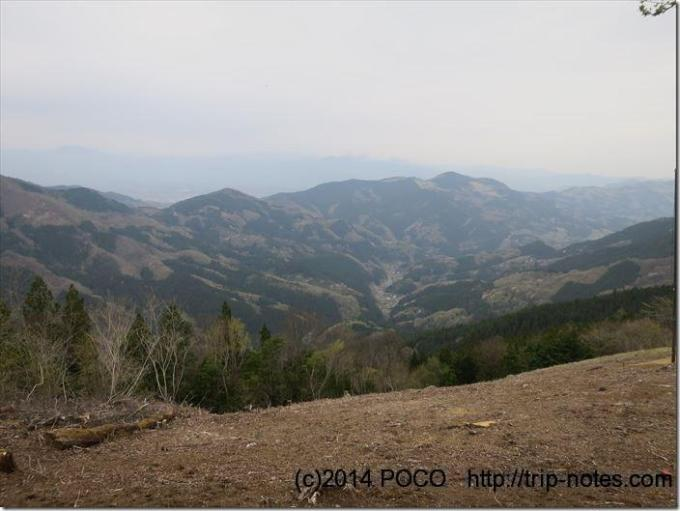 堂平山からの眺望