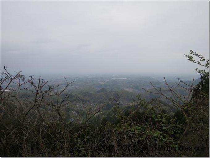 皇鈴山からの展望