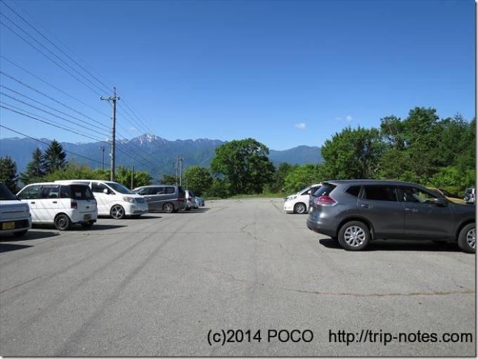富士見高原リゾート駐車場
