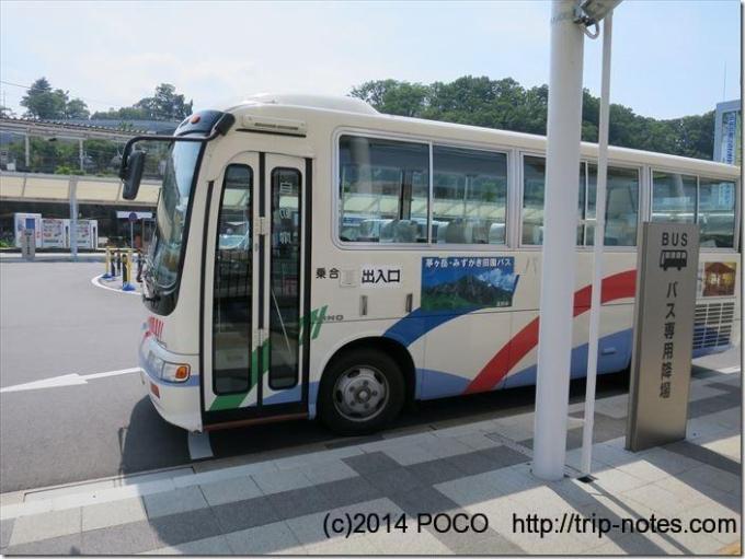 瑞牆山バス