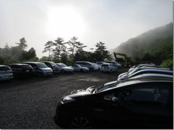 丹波山村村営駐車場