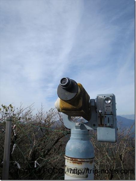 つるぎさん頂上ヒュッテ望遠鏡