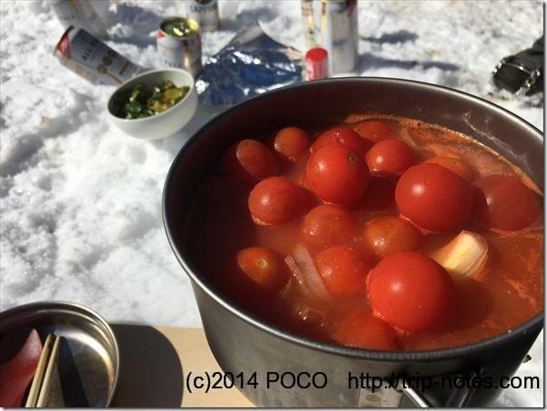 トマトスープ鍋_ミニトマト