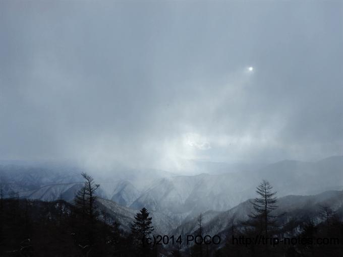 小雲取山からの眺望