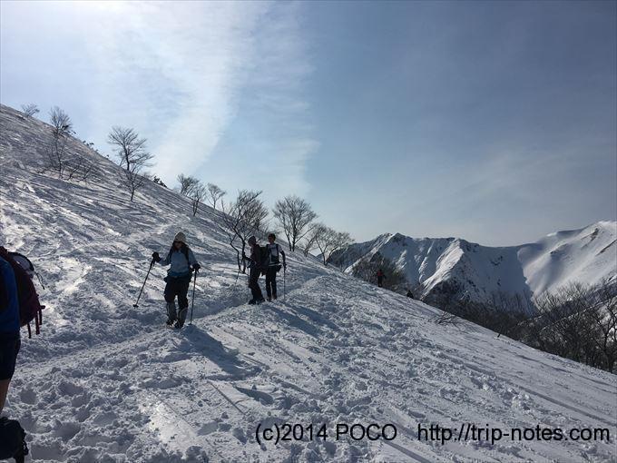 谷川岳雪山登山