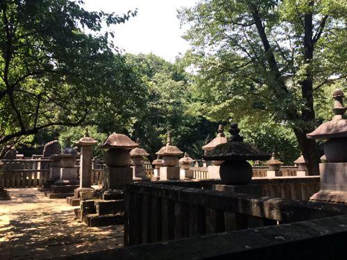 松平信綱墓所