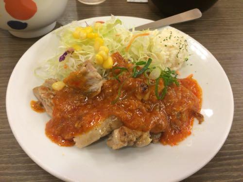 鶏のチリソース
