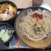 江戸きりそば ゆで太郎 入間宮寺店で「かつ丼セット」