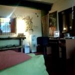 Sala de estar del Hostel Timbó