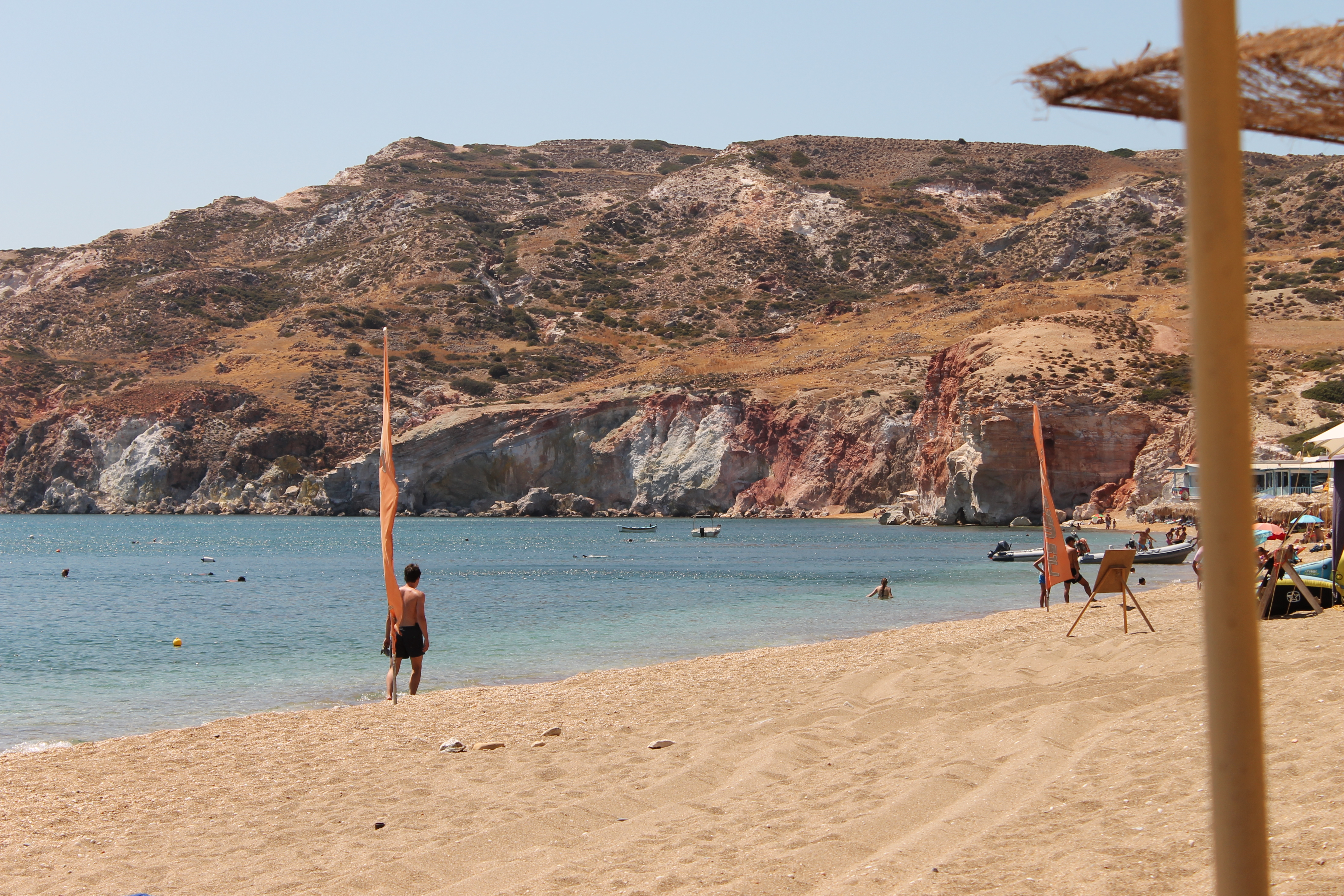 Kvinnelige eskorter i va stranden