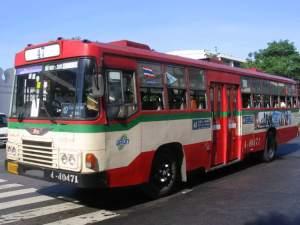 Автобусы в Бангкоке