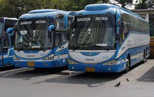 Автобусы в Паттайе