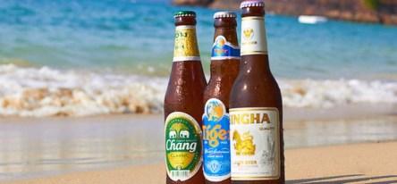 Пиво в Таиланде, Chang, Singha, Tiger