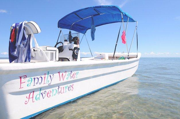Aventuras familiares en el agua