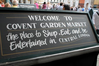 Welcome to Covent Garden