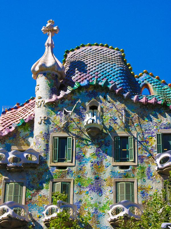 Casa Batll by Antoni Gaud  Barcelona
