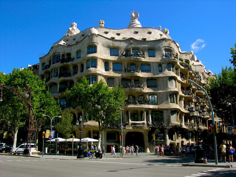 La Pedrera casa Mil by Antoni Gaud  Barcelona