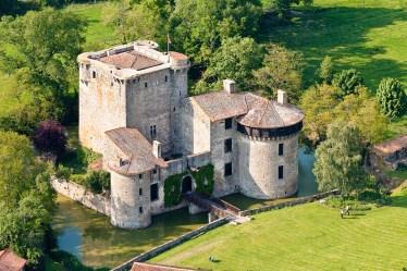 france medieval castle ancient breakfast bed
