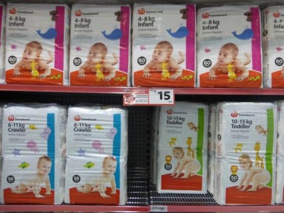 Produits bébé Countdown Nouvelle Zélande tripandtwins.com
