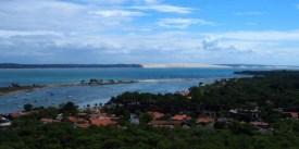 vue depuis le haut du phare du cap ferret